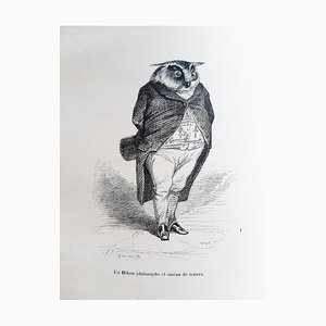 Jean Jacques Grandville - Privacy and Public Animal - Illustrations - 1842