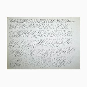 Cy Twombly - Vintage Exhibition Poster - 1968