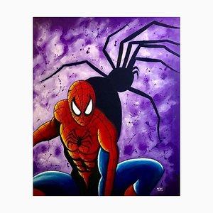 Salvatore Petrucino - Spiderman - Painting - 2019