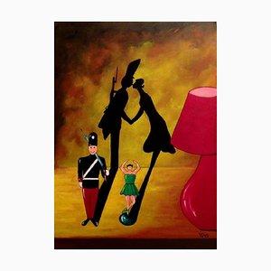 Salvatore Petrucino - Toy Story - Painting - 2014