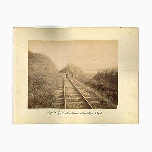 Antike Landschaften in der Nähe von S. Josè Guatemala - Vintage Druck - 1880er