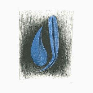 Nunzio Di Stefano - Heron - Lithographie - 1985