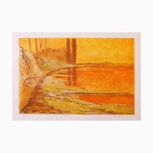 Mario Sportelli - Landscape - Lithograph - 1980s
