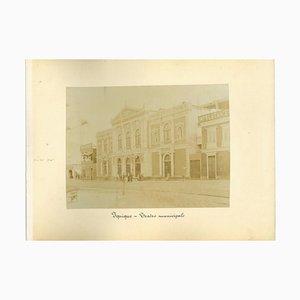 Ancient Views of Iquique, Chile - Vintage Print - 1880s