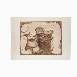 The Contortionist - Etching - Late 20th-Century