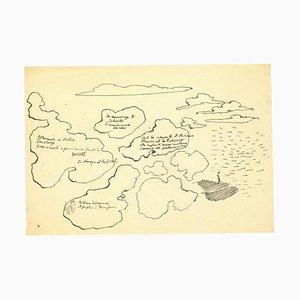 Leo Longanesi - Pen Drawing - Pen Drawing - 1937