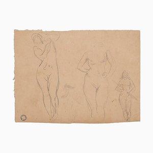 Figuren von Frauen - Zeichnung - Frühes 20. Jahrhundert