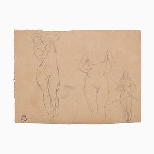 Figures of Women - Drawing - Early 20th-Century