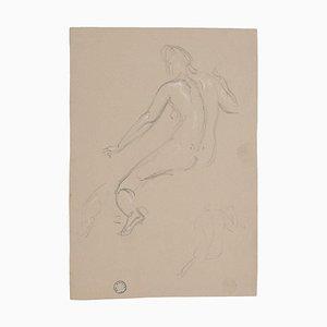Charles Lucien Moulin - Figuren von Frauen - Zeichnung - Frühes 20. Jahrhundert