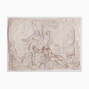 Figuren - Bleistift und Tusche auf Papier - 17. Jahrhundert