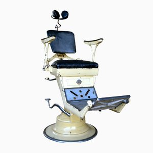 Silla industrial de dentista de Corno, 1930