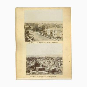 Ancient Views of S. Diego, California - Vintage Print - 1880s