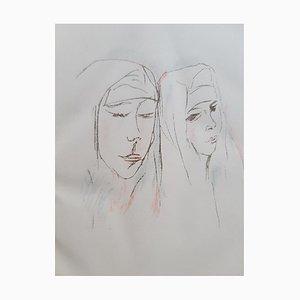 Rudolf Grossmann - The Nuns of Murano - Illustrated Book - 1923