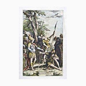 Salvator Rosa - Saint Alexander - Etching - Mid-17th-Century