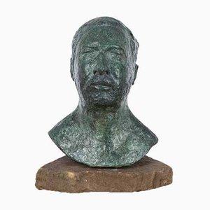 Patinated Bronze Verdigris Sculpture