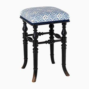 Ebonised Piano Stool from Henry Brooks & Co., 1880s
