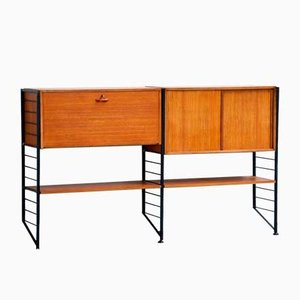 Scandinavian Teak Wall Unit