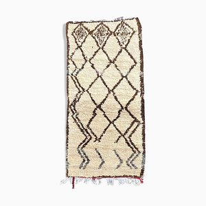 Vintage Beni Ourain Berber Teppich