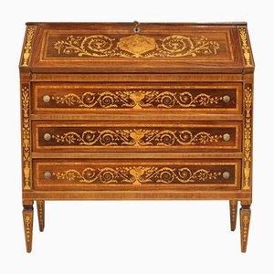 Secreter estilo Louis XVI con incrustaciones