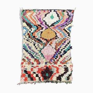 Marokkanischer Boucherouite Vintage Teppich