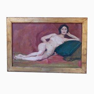 Olio su tela, 1920, personaggio femminile