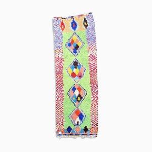 Tappeto Boucherouite berbero fatto a mano
