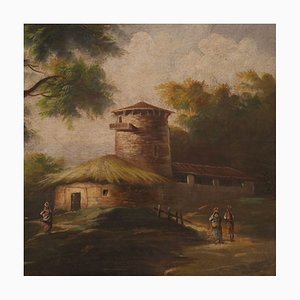 Italienische Bukolische Landschaftsmalerei