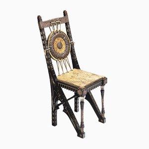 Kleiner Stuhl von Carlo Bugatti