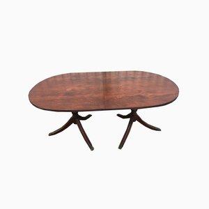 Ausziehbarer ovaler Tisch, 1970er