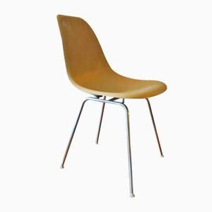 DSX Fiberglas Stuhl von Charles & Ray Eames für Herman Miller, 1950er