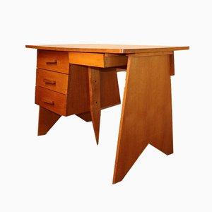 Vintage Schreibtisch aus Holz, 1960er