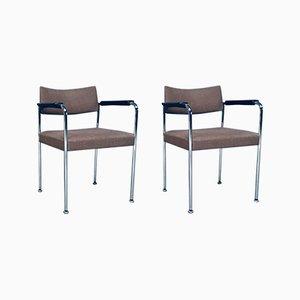 Set de Chaises de Bureau par Martin Stoll, Suisse, 1970s, Set de 2