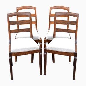 Chaises de Restaurant en Bois, Set de 4