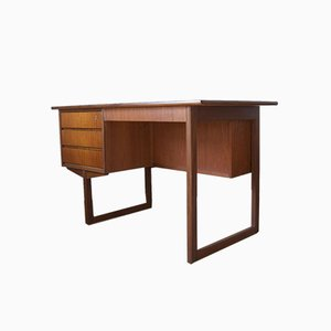 Danish Teak Desk from Vi-Ma Møbler, 1960s.
