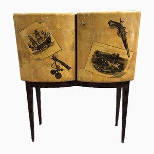 Pergament & Palisander Sideboard, 1950er