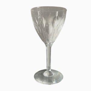 Verres en Cristal par la Maison Baccarat, 1930s, Set de 6