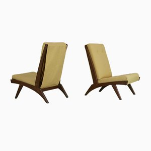 Model FS 116 Chairs from Free-Span, France, 1952, Set of 2