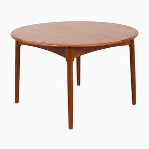 Ausziehbarer Teak Tisch von Arne Hovmand Olsen für Mogens Kold, 1960er