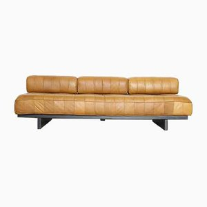 Leather DS80 Daybed Sofa from de Sede, 1980s