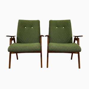 Armchairs by Jaroslav Smidek, the 1960s, Set of 2