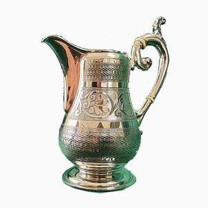 Cremefarbene Silberdose von Theodor Dörr, 1800er