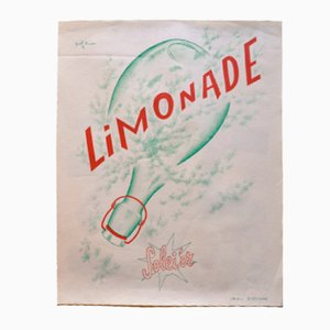Vintage French Lemonade Advertisement