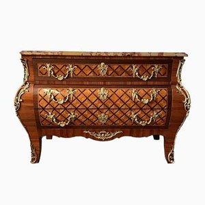 Regency Mahogany Veneer and Rosewood Dresser