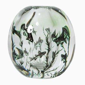 Graal Vase von Edward Hald für Orrefors
