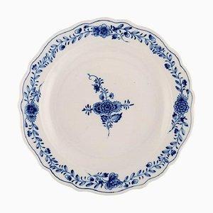Plat Rond en Porcelaine Peinte à la Main de Meissen