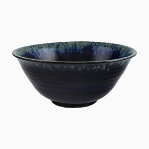 Bowl in Glazed Ceramics by Carl Harry Stålhane 1920-1990 for Designhuset, 1977