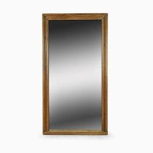 Großer Spiegel mit Holzrahmen
