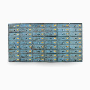 Blue Wooden Drawers