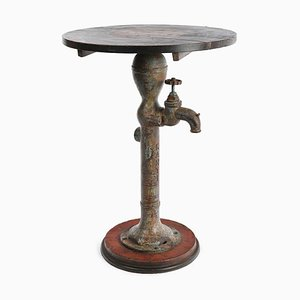 Bolster Fountain in Iron and Wood