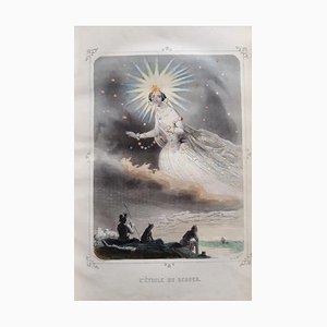 Les Etoiles, Buch von JJ Grandville, 1849